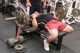 bench press elbows good