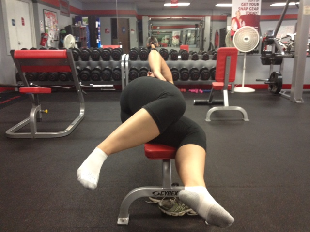 Side Lying Elevated Hip AD AB