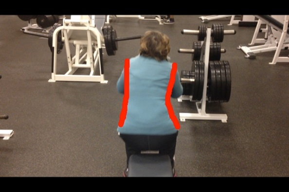 Diane lateral tilt squat up portion with lines