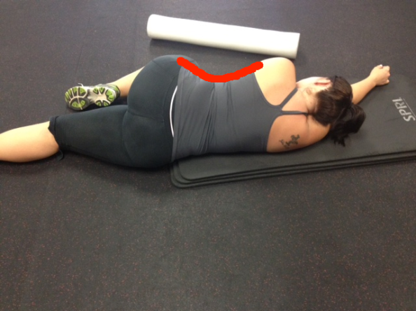 Sarah sleep no knee support with top line