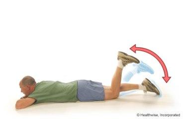 active knee flexion