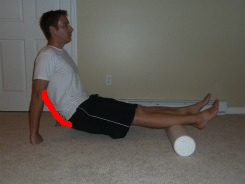 foam roller calves lower back bad