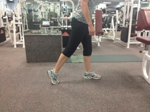 Standing ankle push off