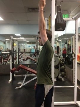 Arm Raise top position