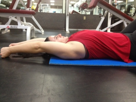 Supine Arm Raise Slide Top