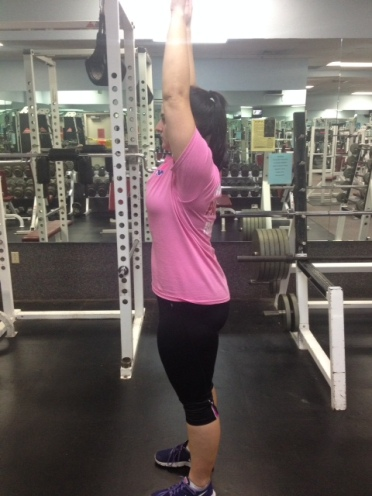 Arm Raise from Nice and Tall Starting Position
