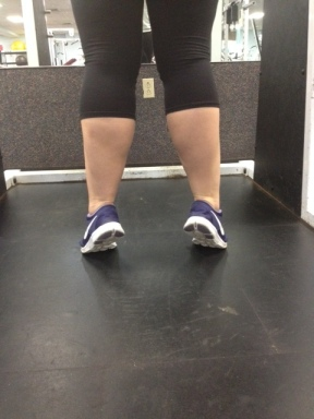 Heel Raise with Feet Turning Out
