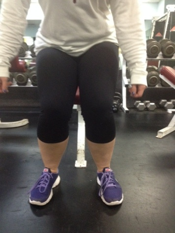 Squat knees caving in