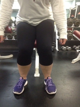 Squat knees caving in