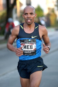 2014 Boston Marathon winner  (From: http://www.hmcpresscenter.com/olympic-trials/olympic-trials-mens-bios/meb-keflezighi/ )