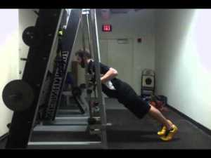 Smith Machine Push Ups