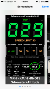 Speedometer App Screenshot