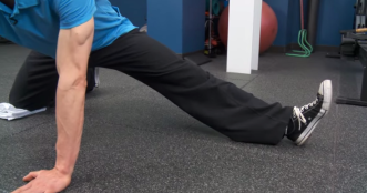 Split Stance Adductor foot up