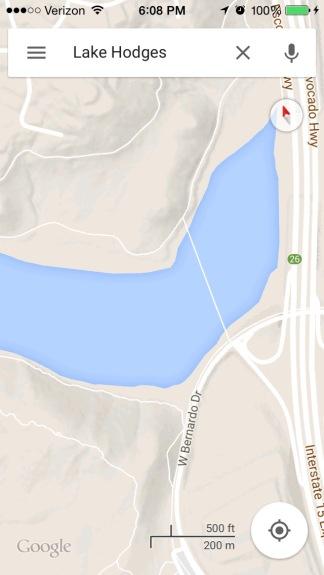 Lake hodges maps 1