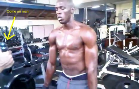 Usain Bolt Water Spray