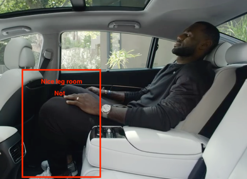 Lebron James Kia Fit for King