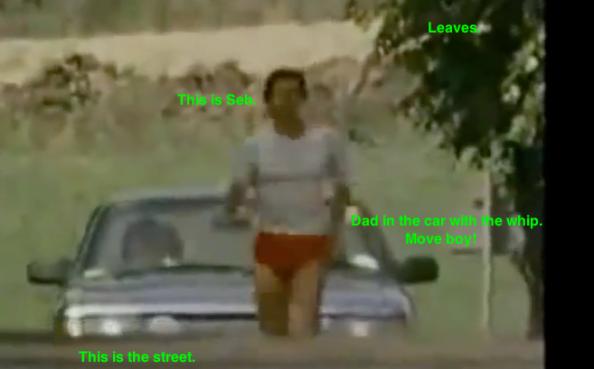 Seb Coe running on street 2