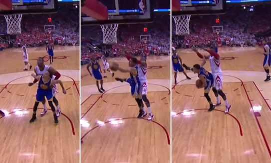 steph curry rebound dwight howard