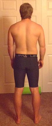 Alec H Back View ( spine bend )
