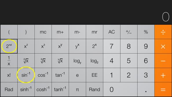 Calculator sin picture