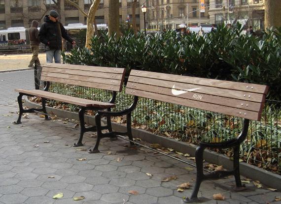 nike ad bench run