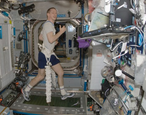 treadmill nasa ISS