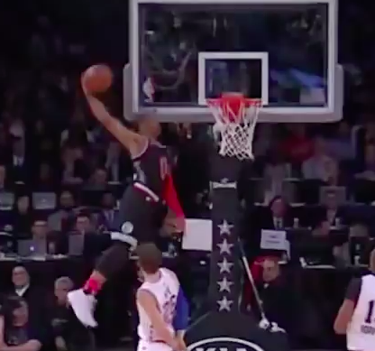 Russell Westbrook jump ability