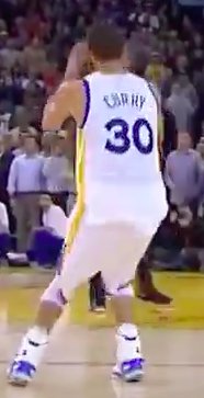 Curry Contested Shot