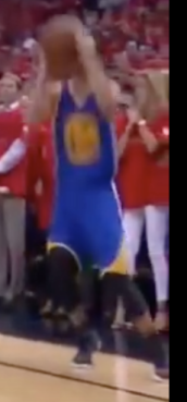 Steph curry shooting not set up