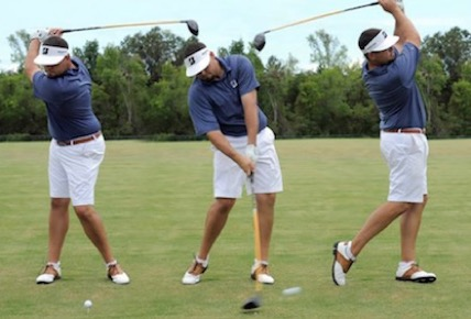 golf swing ankles