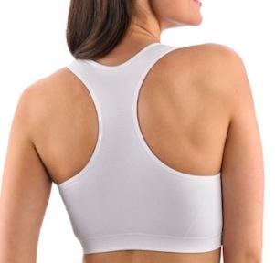 sports bra feeling better on neck